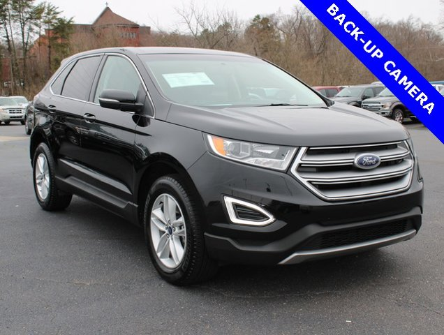 Shadow Black 2018 Ford Edge SEL SUV Winston-Salem NC
