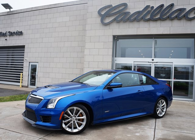 2018 Cadillac ATS-V Coupe 2DR CPE Vector Blue Metallic