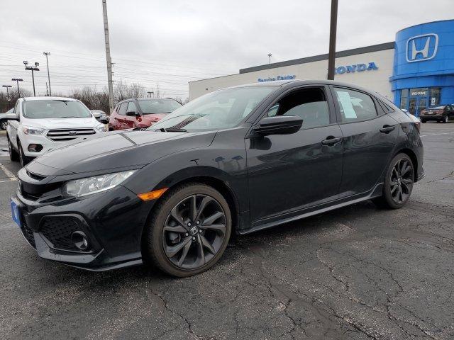 Used 2017 Honda Civic Hatchback in Elyria, OH