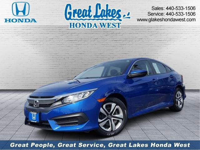 Used 2017 Honda Civic Sedan in Elyria, OH
