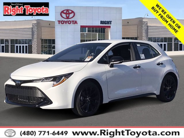 2021 Toyota Corolla Hatchback Nightshade Nightshade CVT Regular Unleaded I-4 2.0 L/121 [1]