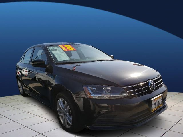 2018 Volkswagen Jetta 14T S Turbocharged Front Wheel Drive Power Steering ABS 4-Wheel Disc Bra
