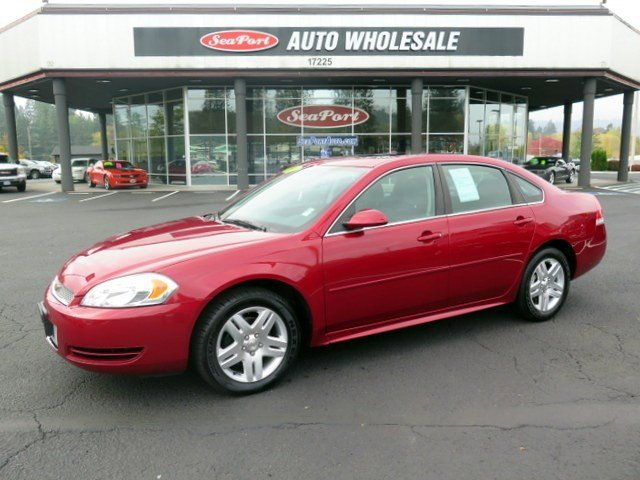 2014 Chevrolet Impala Limited LT Front Wheel Drive Power Steering ABS 4-Wheel Disc Brakes Alumi