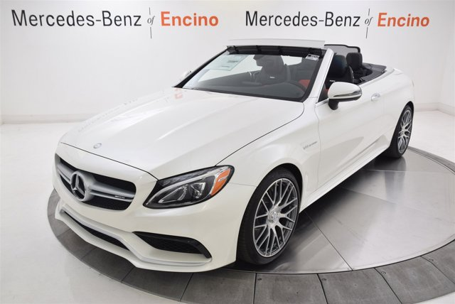 2017 Mercedes C-Class AMG C 63 Cabriolet Turbocharged Rear Wheel Drive Active Suspension Power S