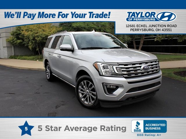 2018 Ford Expedition Limited Turbocharged Four Wheel Drive Tow Hitch Power Steering ABS 4-Whee