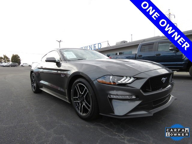 Magnetic Metallic 2018 Ford Mustang GT 2dr Car Winston-Salem NC