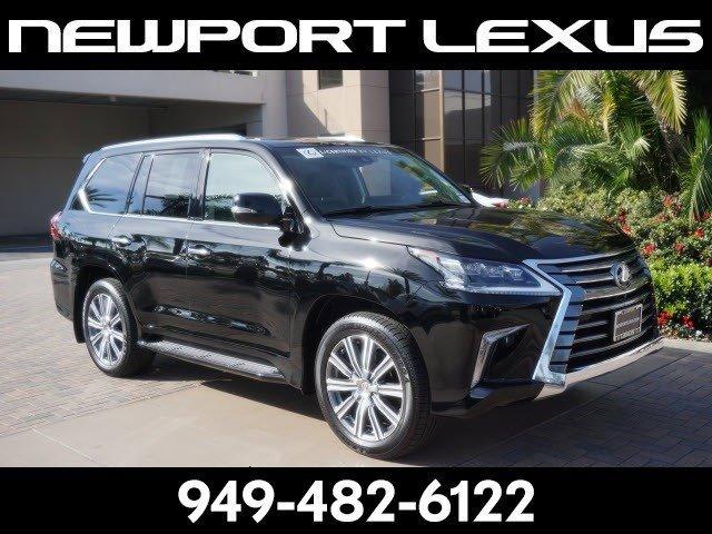 2016 Lexus LX 570 570 Four Wheel Drive Tow Hitch Air Suspension Active Suspension Power Steerin