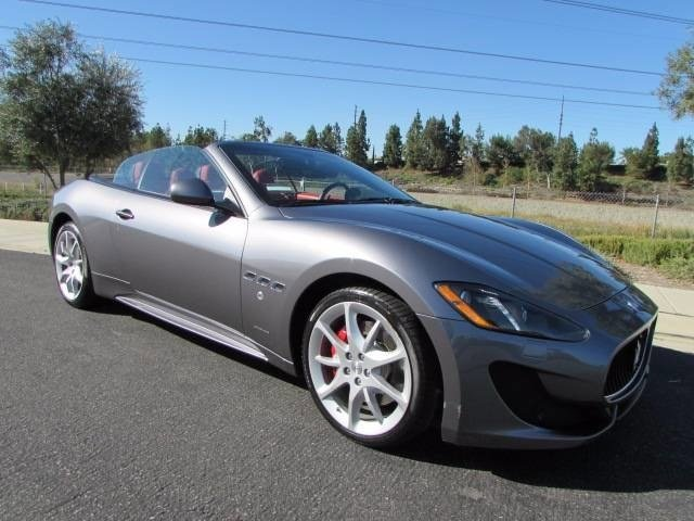 2016 Maserati GranTurismo Convertible Sport Rear Wheel Drive Active Suspension Power Steering AB