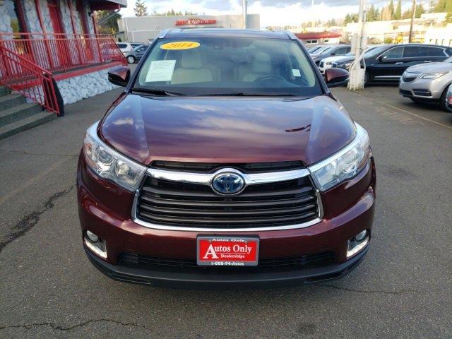 2014 Toyota Highlander Hybrid Limited Platinum