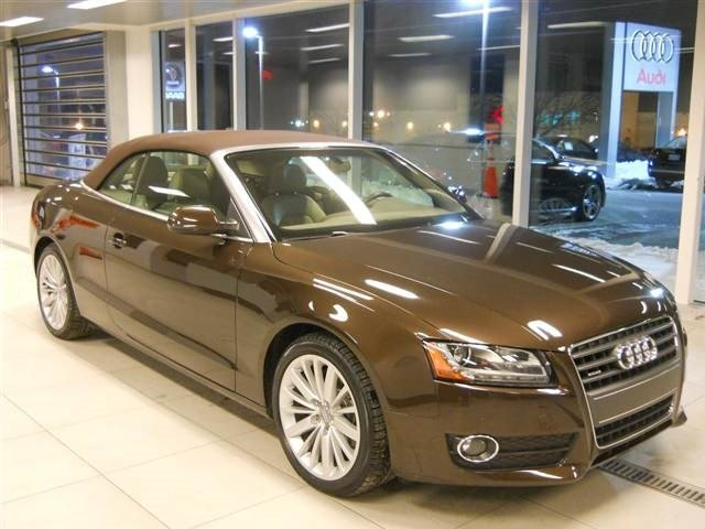2012 Audi A5 20T Premium Plus Turbocharged All Wheel Drive Power Steering 4-Wheel Disc Brakes