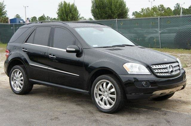 2007 Mercedes M-Class 50L Traction Control Four Wheel Drive Stability Control Tires - Front Per