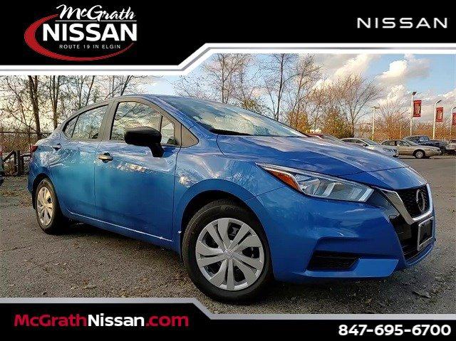 2020 Nissan Versa S S CVT Regular Unleaded I-4 1.6 L/98 [1]
