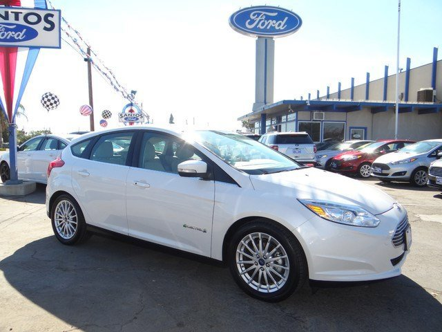 2013 Ford Focus Electric Electric Electric Electric Motor Front Wheel Drive Power Steering ABS