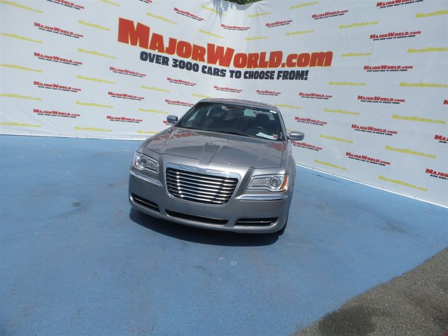 2013 Chrysler 300  Rear Wheel Drive Power Steering ABS 4-Wheel Disc Brakes Temporary Spare Tire