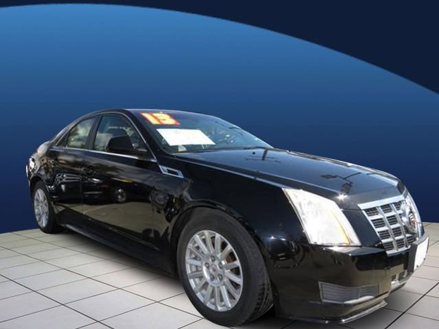 2013 Cadillac CTS Sedan Luxury LUXURY PREFERRED EQUIPMENT GROUP  includes standard equipment BLACK