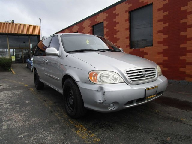 2003 Kia Sedona LX Front Wheel Drive Tires - Front All-Season Tires - Rear All-Season Wheel Cove