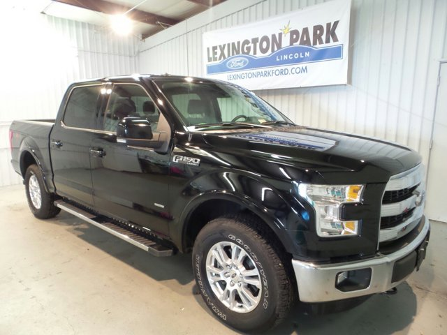 2016 Ford F-150 Lariat Turbocharged Four Wheel Drive Tow Hitch Power Steerin