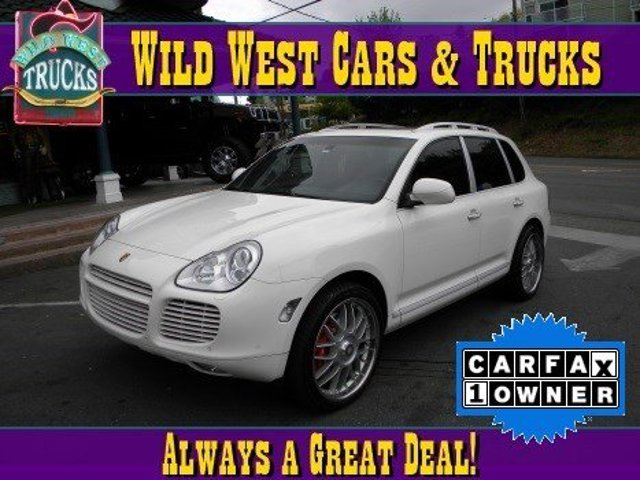 2006 Porsche Cayenne Turbo S Turbocharged All Wheel Drive Air Suspension Active Suspension Trac