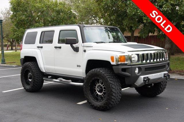 2009 HUMMER H3 Luxury 4x4 4dr SUV Four Wheel Drive Tow Hooks Power Steering ABS 4-Wheel Disc Br
