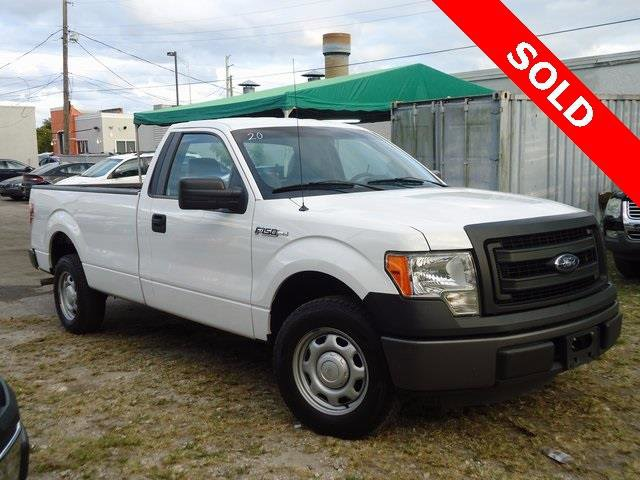 2013 Ford F-150 XL Rear Wheel Drive Power Steering 4-Wheel Disc Brakes Tires - Front All-Terrain