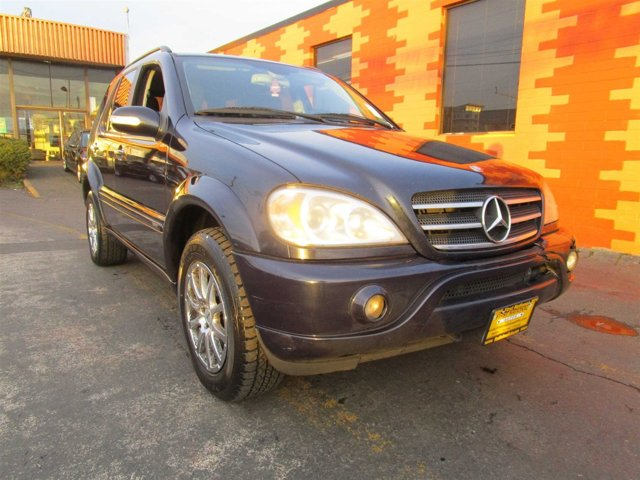 2002 Mercedes M-Class ML500 Four Wheel Drive Traction Control Stability Control Tires - Front Pe