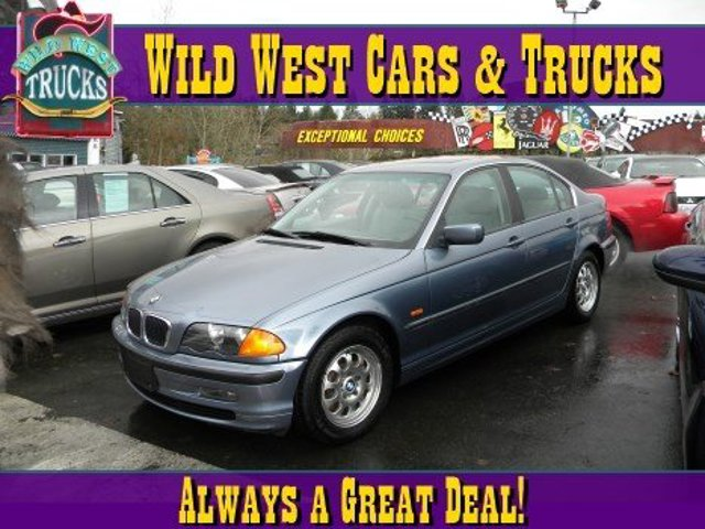 1999 BMW 3 Series 323i Rear Wheel Drive Traction Control Tires - Front All-Season Tires - Rear A
