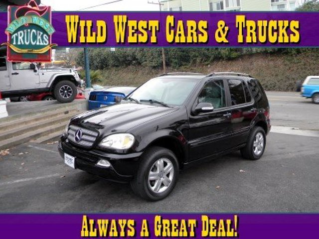 2005 Mercedes M-Class 37L Traction Control Four Wheel Drive Stability Control Tow Hooks Tires