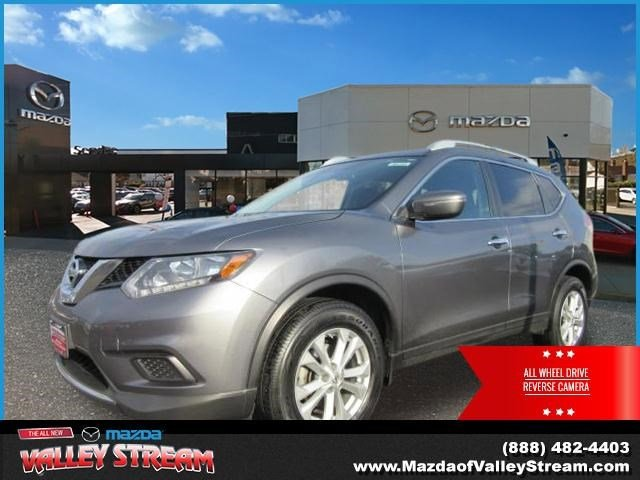 2014 Nissan Rogue SV All Wheel Drive Power Steering ABS 4-Wheel Disc Brakes Brake Assist Alumi