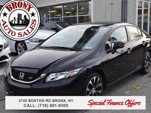 2013 Honda Civic Sdn Si LockingLimited Slip Differential Front Wheel Drive Power Steering 4-Whe
