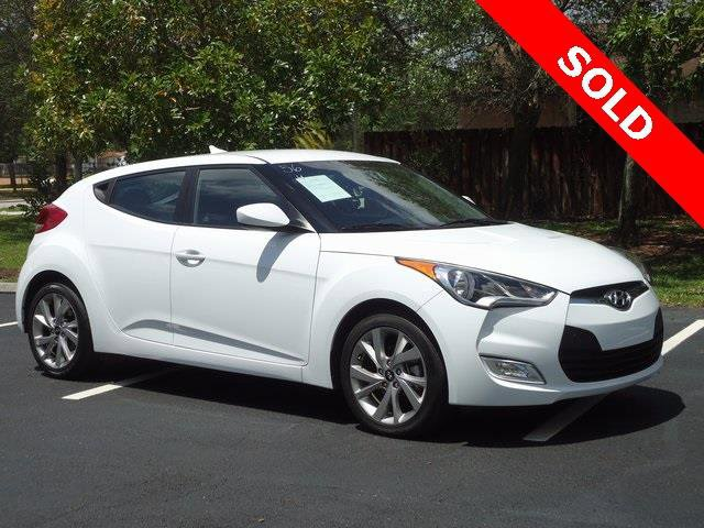 2017 Hyundai Veloster Value Edition 3dr Coupe Front Wheel Drive Power Steering ABS 4-Wheel Disc