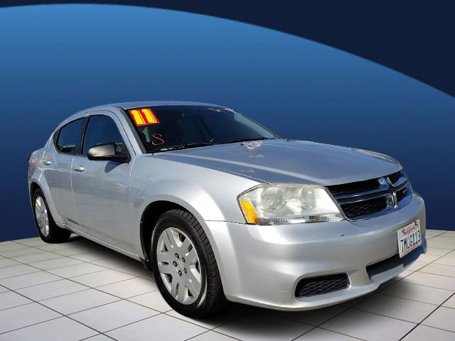 2011 Dodge Avenger Express HIGH BEAM DAYTIME RUNNING HEADLAMPS 4-SPEED AUTOMATIC TRANSMISSION  ST