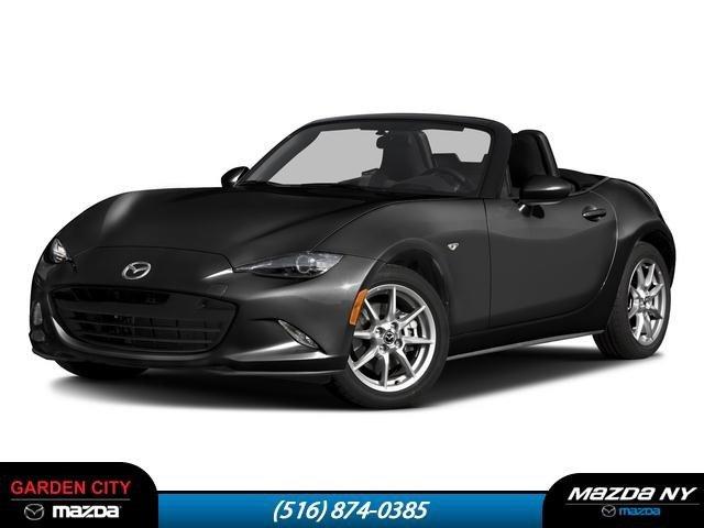2016 Mazda MX-5 Miata Sport JET BLACK MICA REAR LIP SPOILER - BODY COLOR BLACK  CLOTH UPHOLSTERY