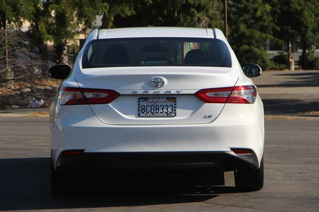 2018 Toyota Camry LE 5