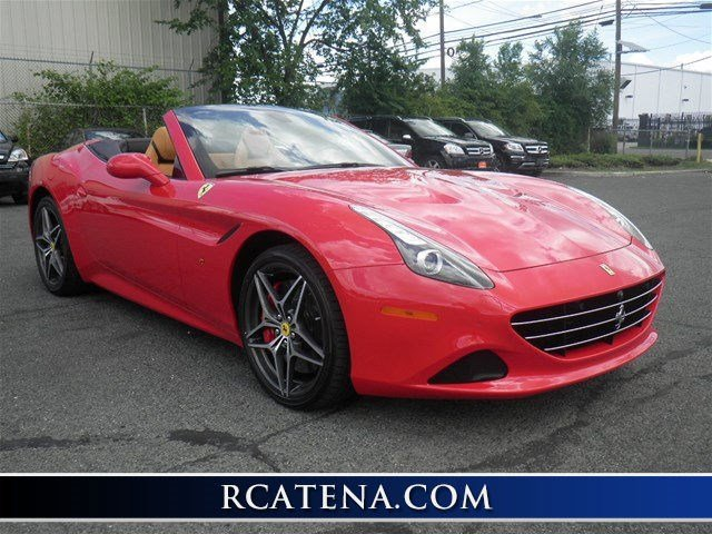 2016 Ferrari California T Turbocharged Rear Wheel Drive Power Steering ABS 4-Wheel Disc Brakes