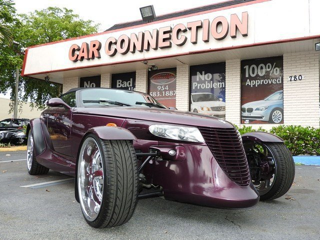 1999 Plymouth Prowler  High Output Rear Wheel Drive Tires - Front Performance Tires - Rear Perfo