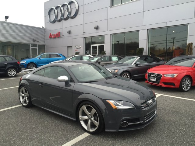 2015 Audi TTS 20T COMPETITION PACKAGE  -inc front and rear brakes wgray painted calipers and ext