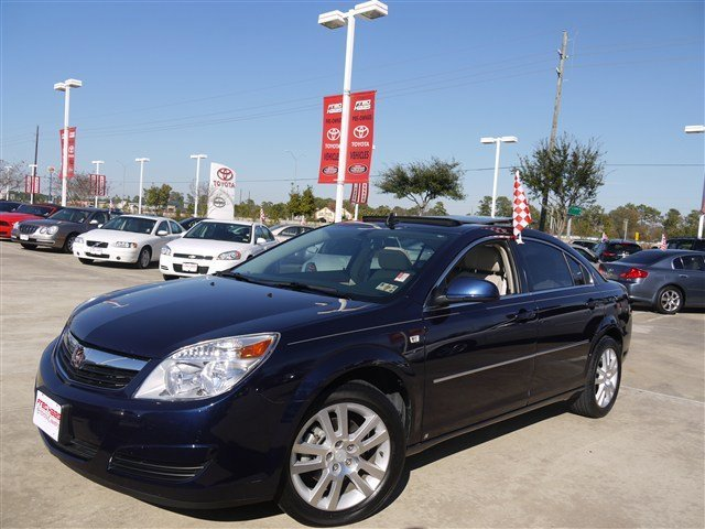 2008 Saturn Aura XE with sunroof AUDIO SYSTEM  AMFM STEREO WITH CD PLAYER  and MP3 playback  digit