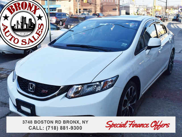2013 Honda Civic Sdn Si Navigation LockingLimited Slip Differential Front Wheel Drive Power Stee