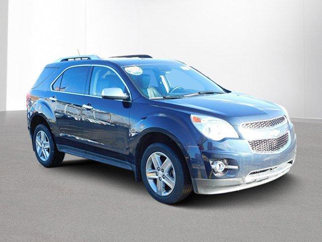 2015 Chevrolet Equinox LTZ EXHAUST  DUAL WITH PREMIUM TIPS AXLE  277 FINAL DRIVE RATIO BLUE VELV