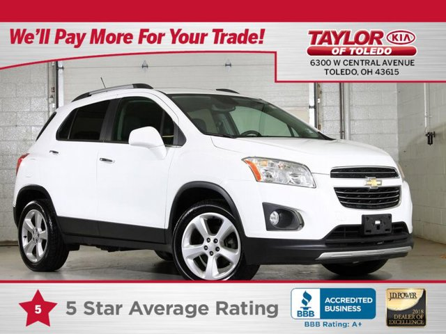 2016 Chevrolet Trax LTZ Summit White