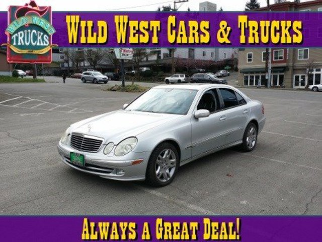 2003 Mercedes E-Class 50L Traction Control Stability Control Rear Wheel Drive Active Suspension