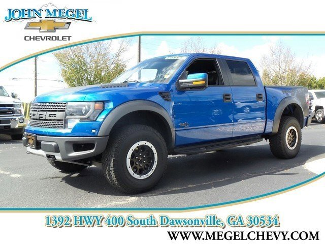 2014 Ford F-150 SVT RAPTOR LUX Power Steering ABS 4-Wheel Disc Brakes Conventional Spare Tire I