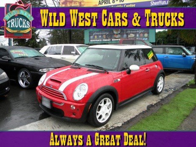 2005 MINI Cooper Hardtop S Supercharged Traction Control Stability Control Front Wheel Drive Ti