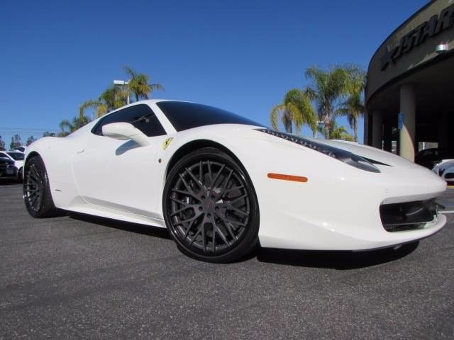 2015 Ferrari 458 Italia Convertible Rear Wheel Drive Active Suspension Power Steering ABS 4-Whe
