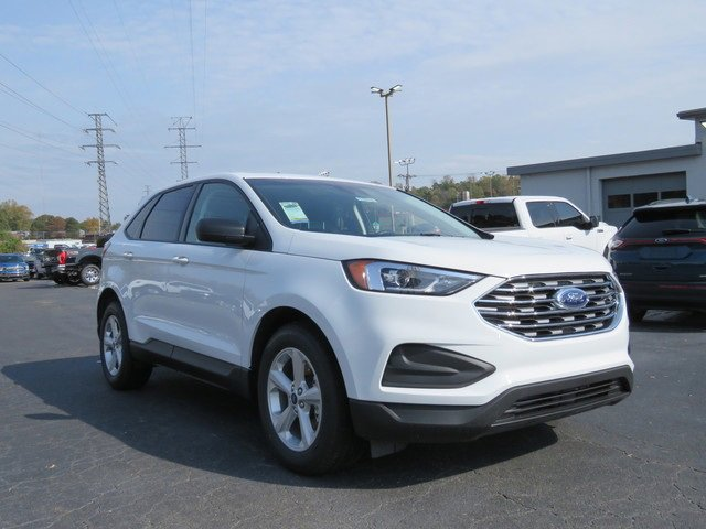 Oxford White 2020 Ford Edge SE SUV Winston-Salem NC