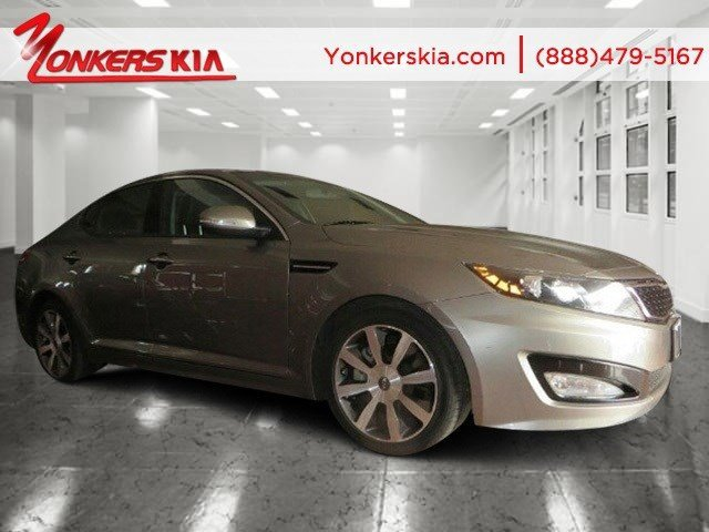 2012 Kia Optima SX wNavigation Titanium MetallicBlack V4 20L Automatic 40768 miles Fully lo