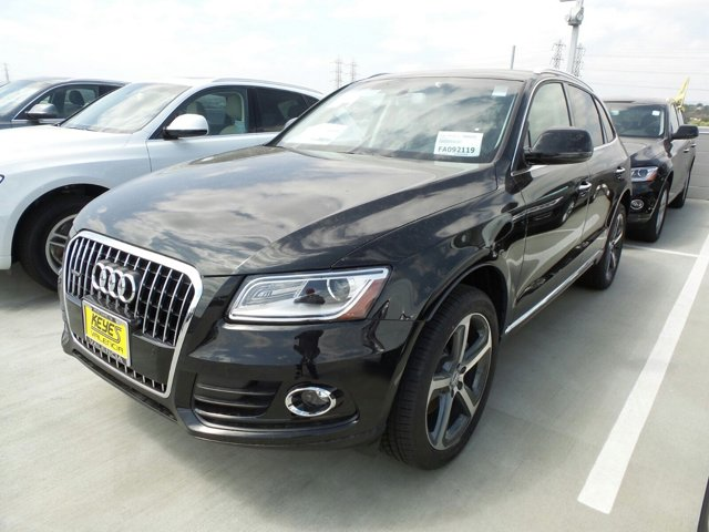 2015 Audi Q5 Premium Plus Brilliant BlackBLACK LEATHER V6 30 L Automatic 10 miles  Turbocharg