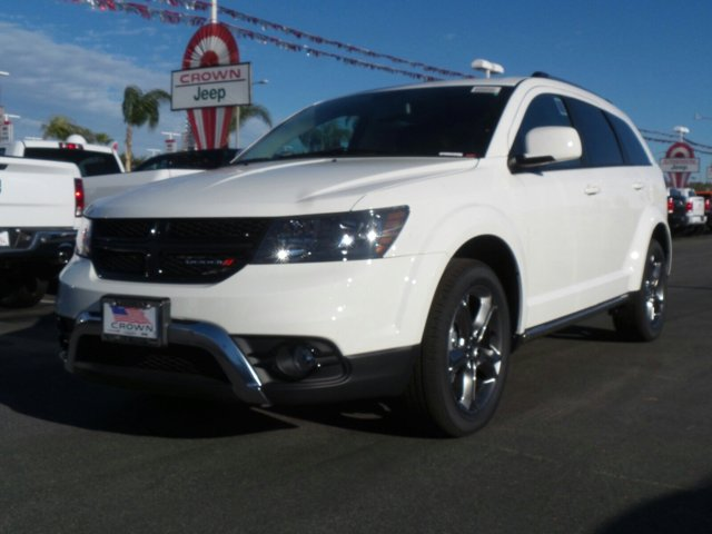 2017 Dodge Journey Crossroad Plus Vice WhiteBlack V6 36 L Automatic 0 miles  ENGINE 36L V6