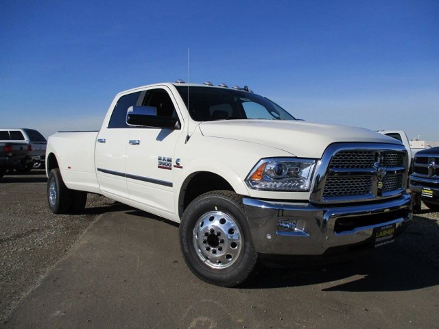 2017 Ram 3500 Laramie Pearl WhiteBlack V6 67 L Automatic 12 miles  SPRAY IN BEDLINER  RADIO