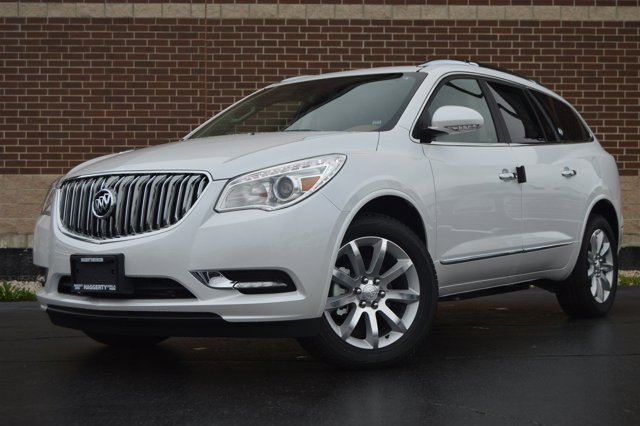 2017 Buick Enclave Premium White Frost Tricoat V6 36L Automatic 10 miles Buick began its prod